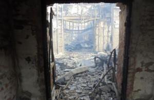 В-Донецке-снарядом-разрушен-храм-святого-праведного-Иоанна-Кронштадского-2